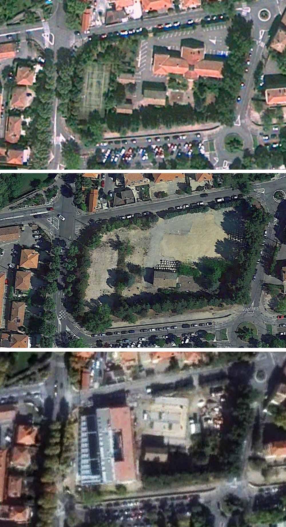 L'évolution des lieux de 2010 à 2015 - Photo : © Google Earth