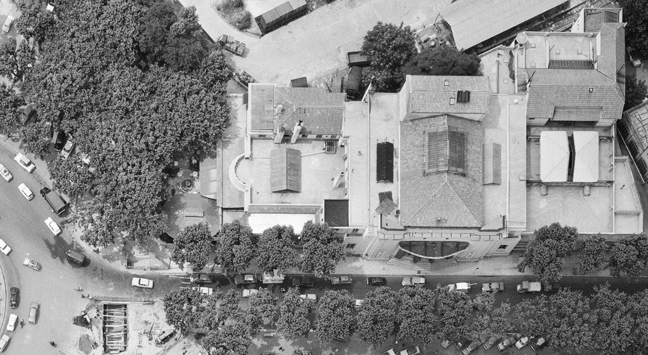 L'ancien Casino Municipal d'Aix en 1964 - Photo : © IGN GEOPORTAIL/1964