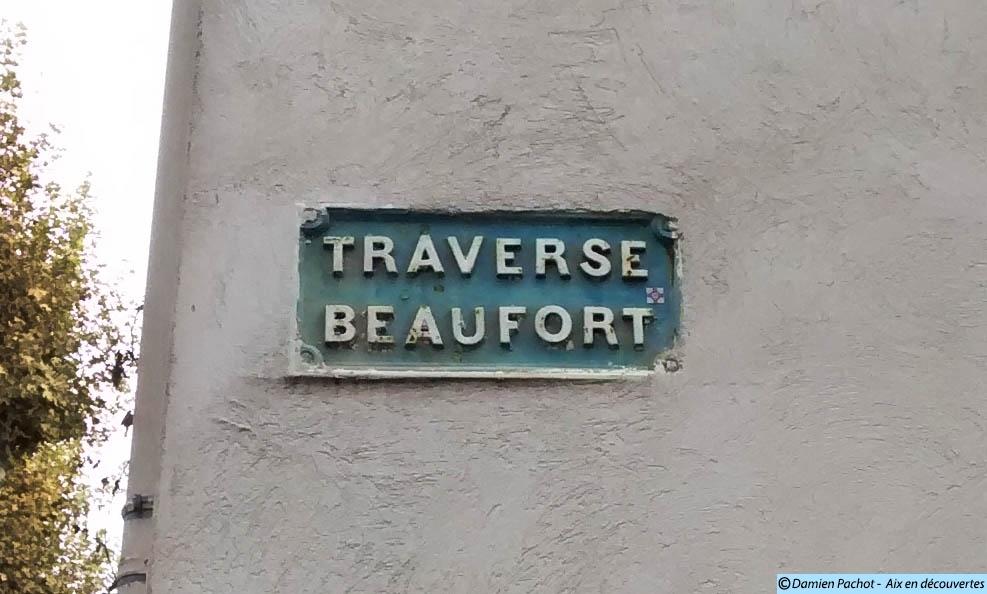 Le panneau de la traverse Beaufort