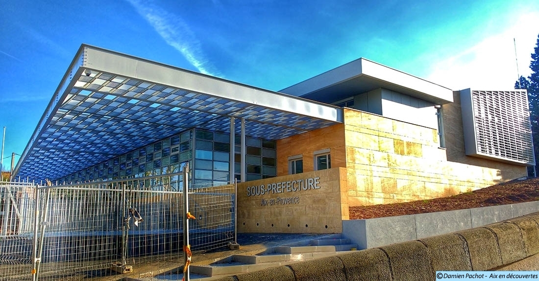 La nouvelle sous-préfecture d'Aix en Provence ouvrira ses portes en mai 2016