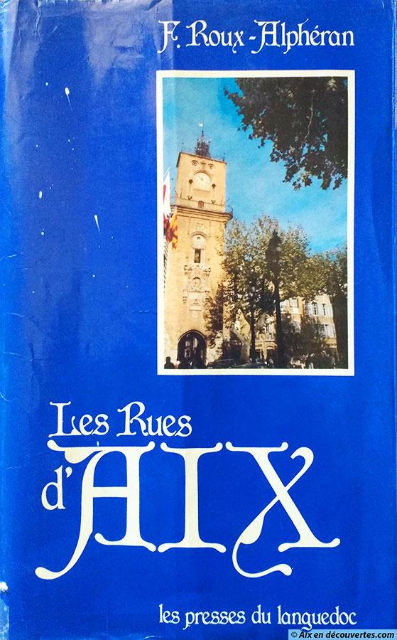 """""""Les rues d'Aix"""" (édition de 1985)"""
