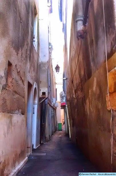 L'ancienne rue Marrante puis Traverse de Garron est aujourd'hui la continuité