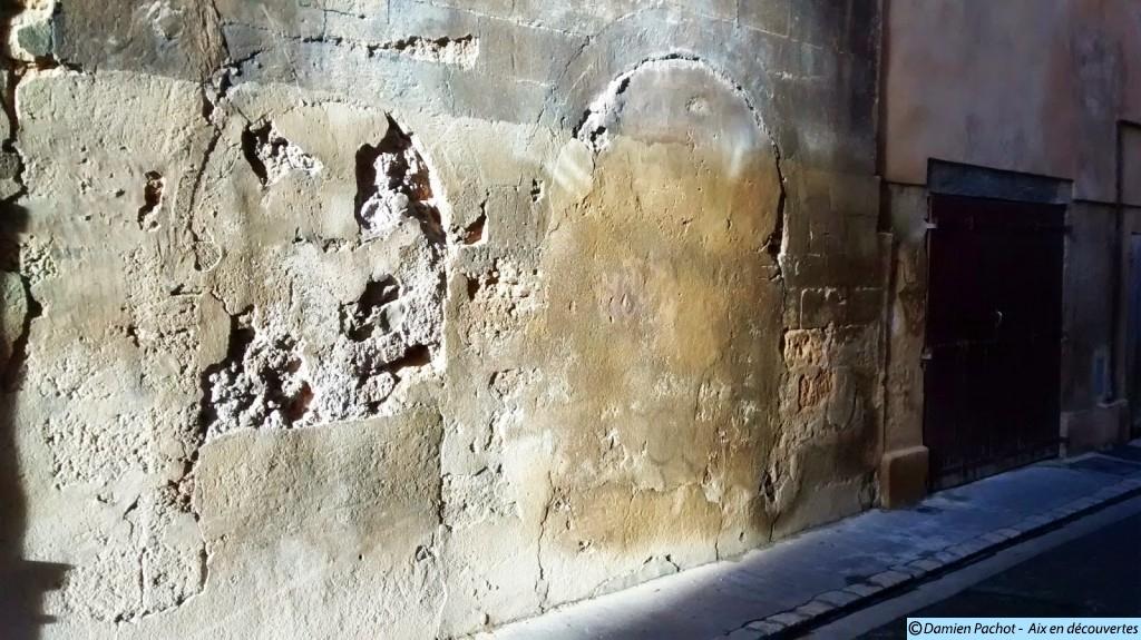 La façade condamnée de la rue Venel