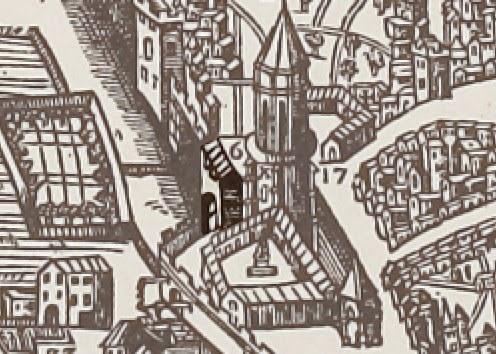 La porte près du couvent des Augustins - 1575 - Belleforest