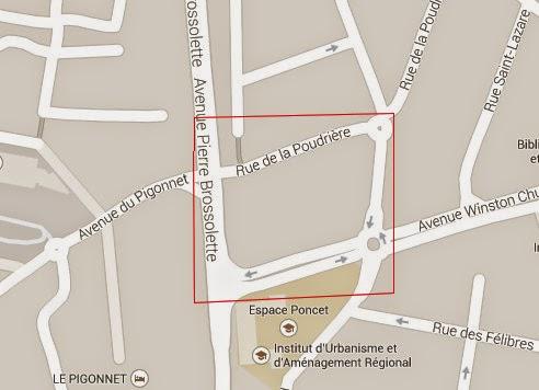 L'emplacement en question - Photo: Google Maps