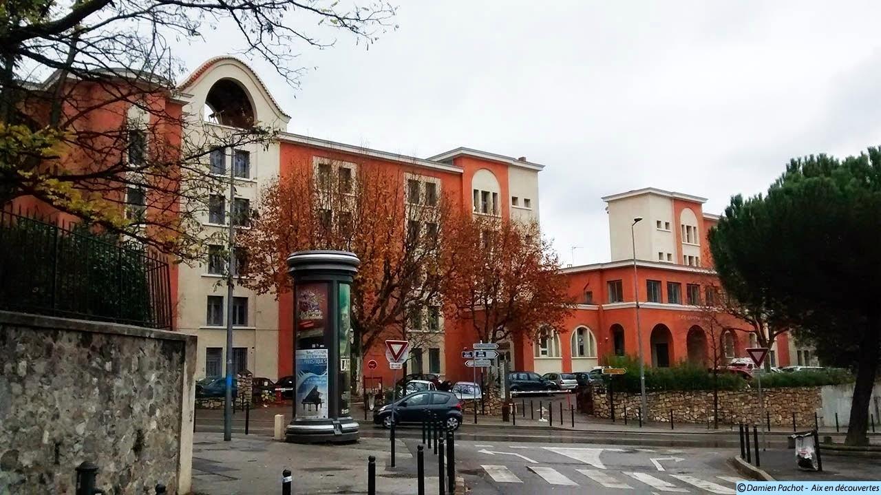 L'ancienne cité universitaire Benjamin Abram, là où se situaient les anciens abattoirs Photo : © Aix en découvertes