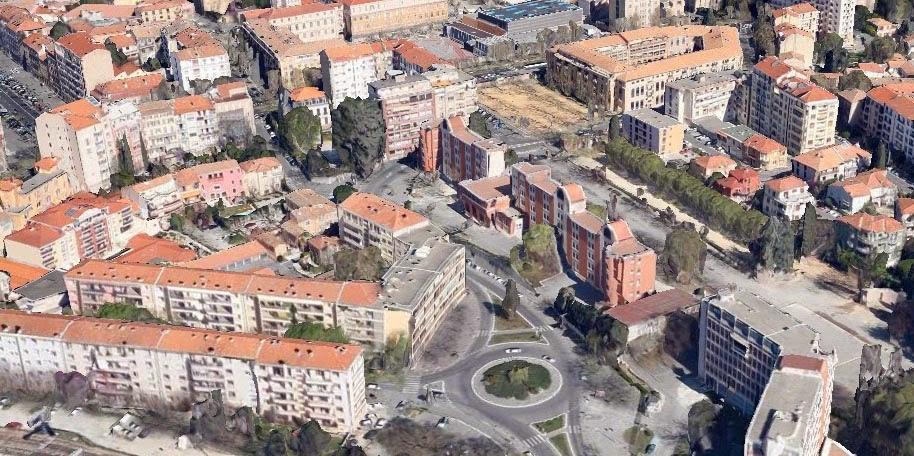 L'ancien emplacement des abattoirs d'Aix