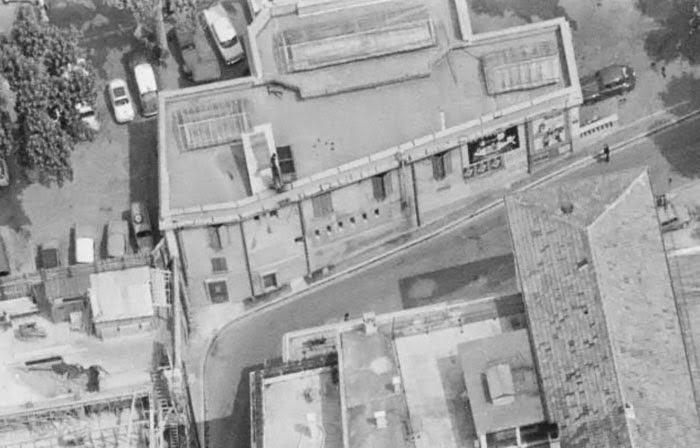 L'ancien Pavillon du Tourisme dans les années 60. (Face arrière) Photo: © IGN-GEOPORTAIL/1964