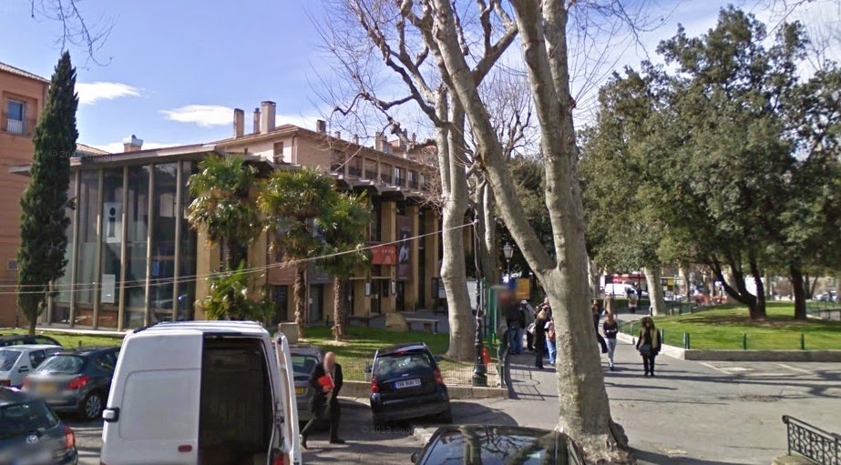 Le second Office de Tourisme détruit en 2012 Photo: Google Street-View