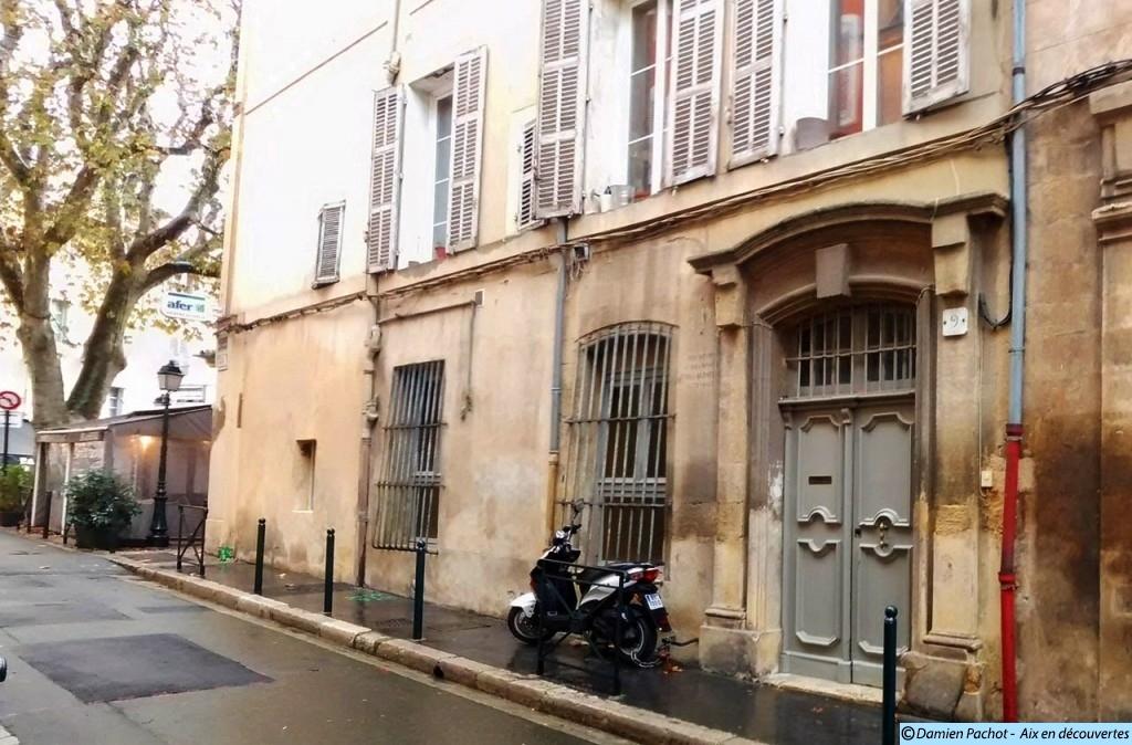 La maison où vécu Roux-Alphéran Photo: © Aix en découvertes