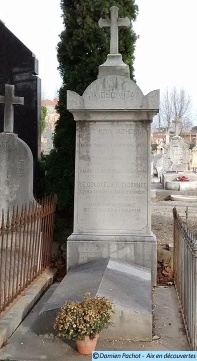 La tombe de Roux-Alphéran Photo: © Aix en découvertes