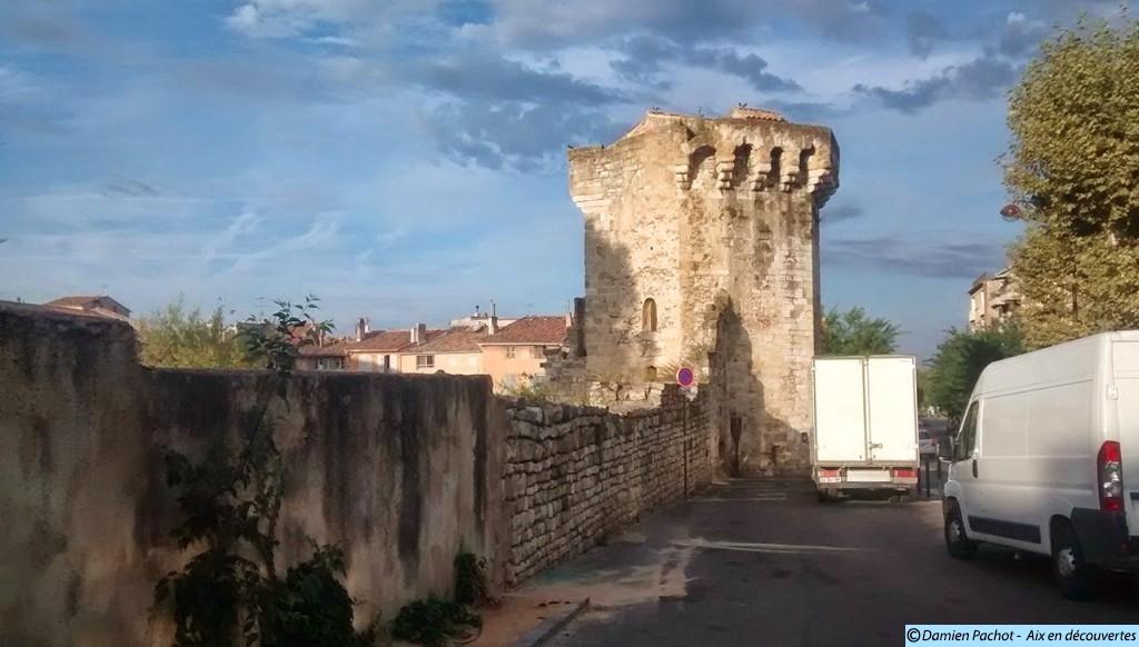 La Tourreluque derniere tour des remparts du XIVe siècle