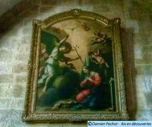 Ce tableau se trouvait dans l'unes des chapelles du Palais des Comtes de Provence Photo: © Aix en découvertes