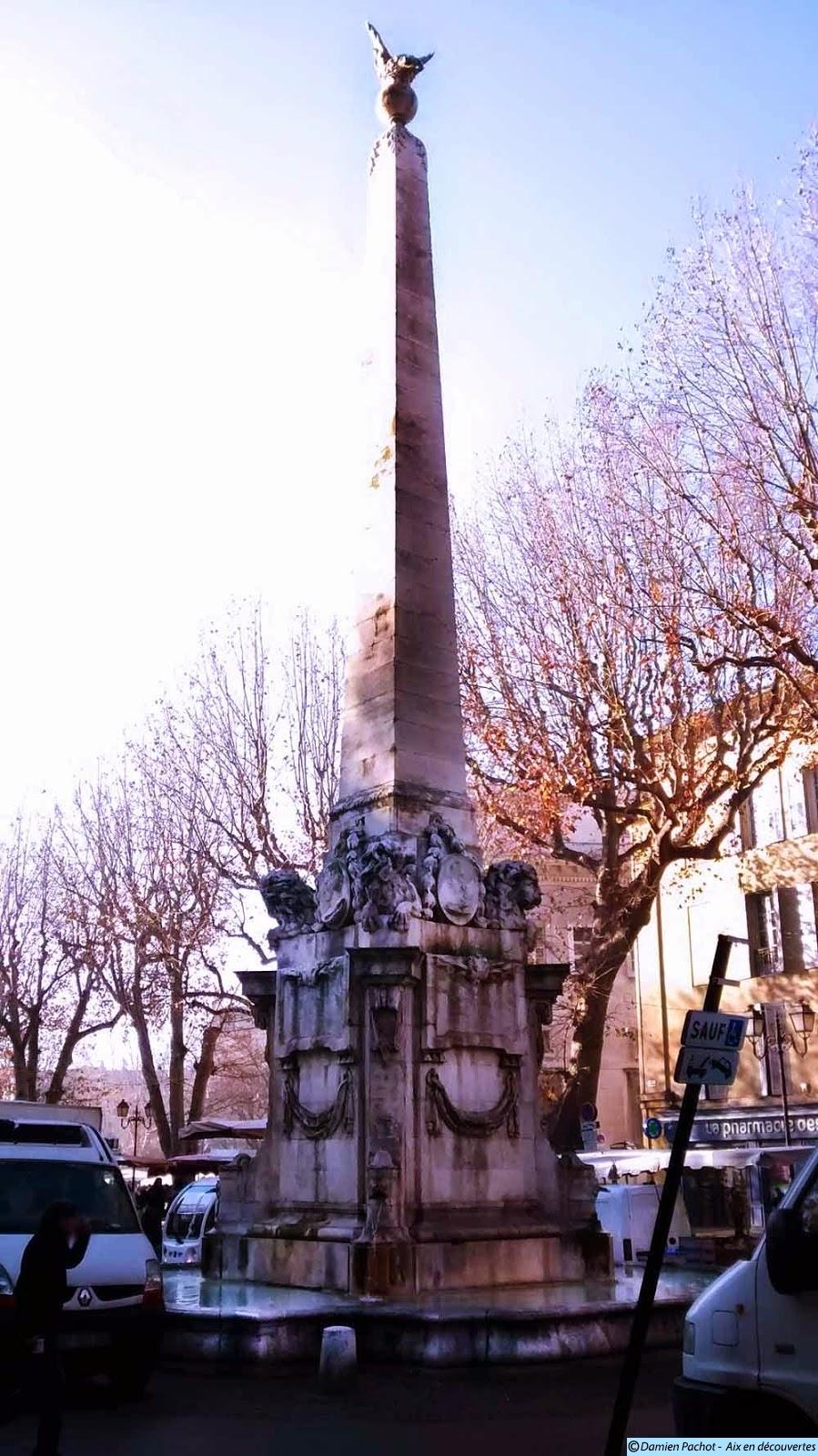 La fontaine de la place des Prêcheurs