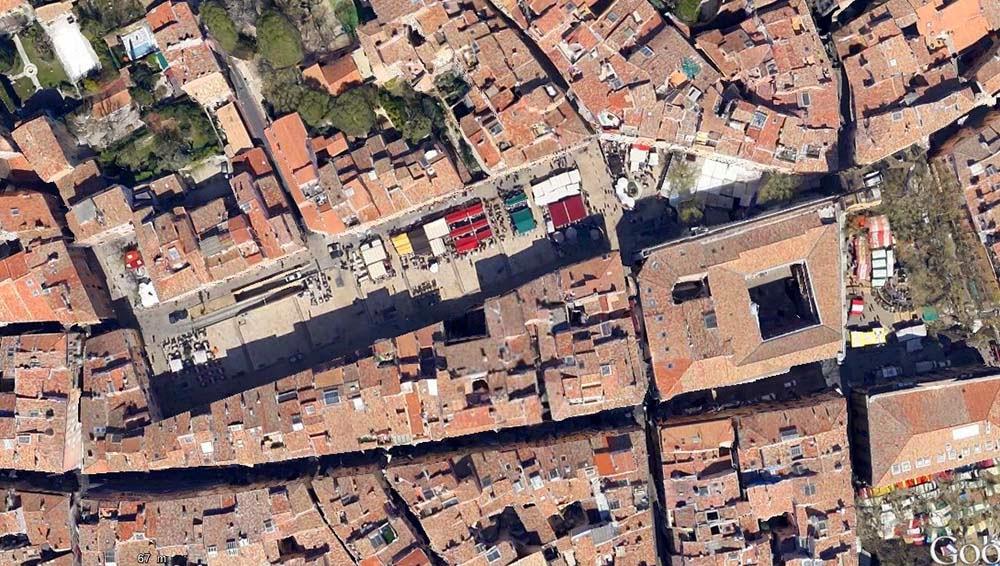 La place des Cardeurs de nos jours Photo: Google Maps