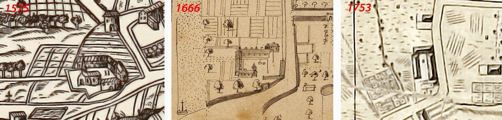 Différentes représentations des lieux au fil des siècles