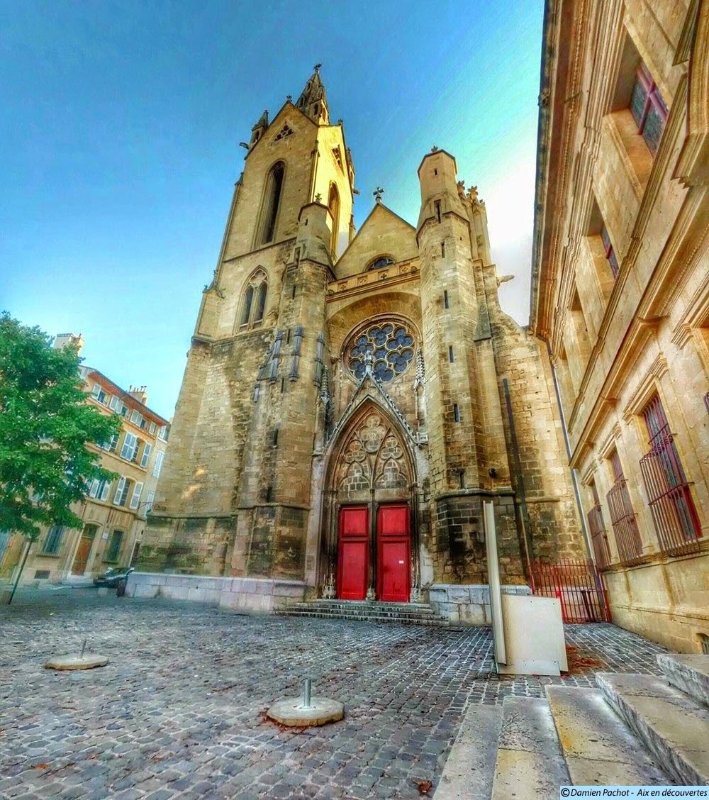 L'église Saint-Jean-de-Malte Photo: © Aix en découvertes