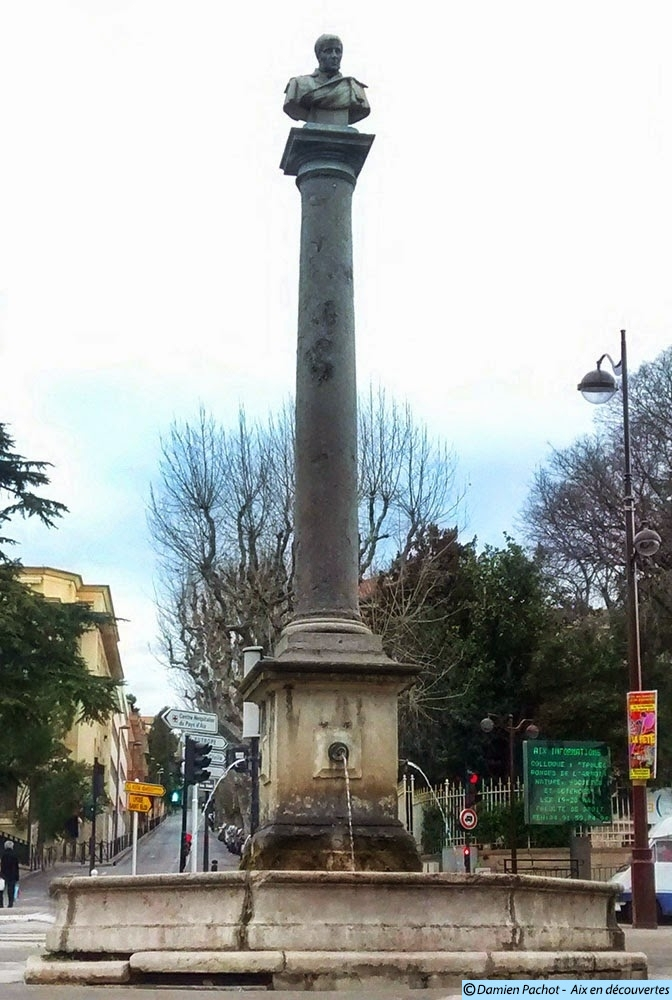La fontaine de la place Bellegarde