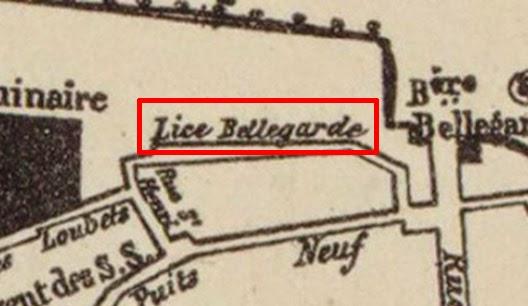 L'orthographe de la rue change selon les plans Plan: Gallica (Voir dans les sources)