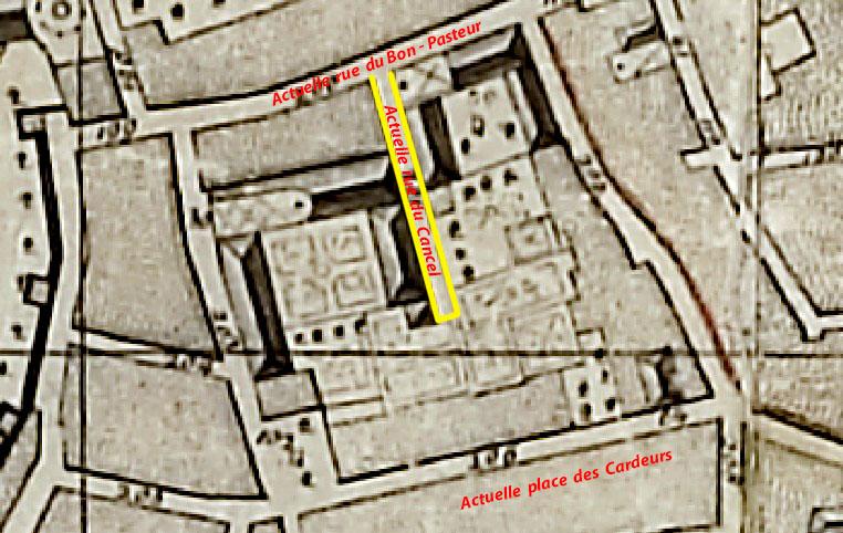Plan : Esprit Devoux - 1753 - (voir dans les sources)