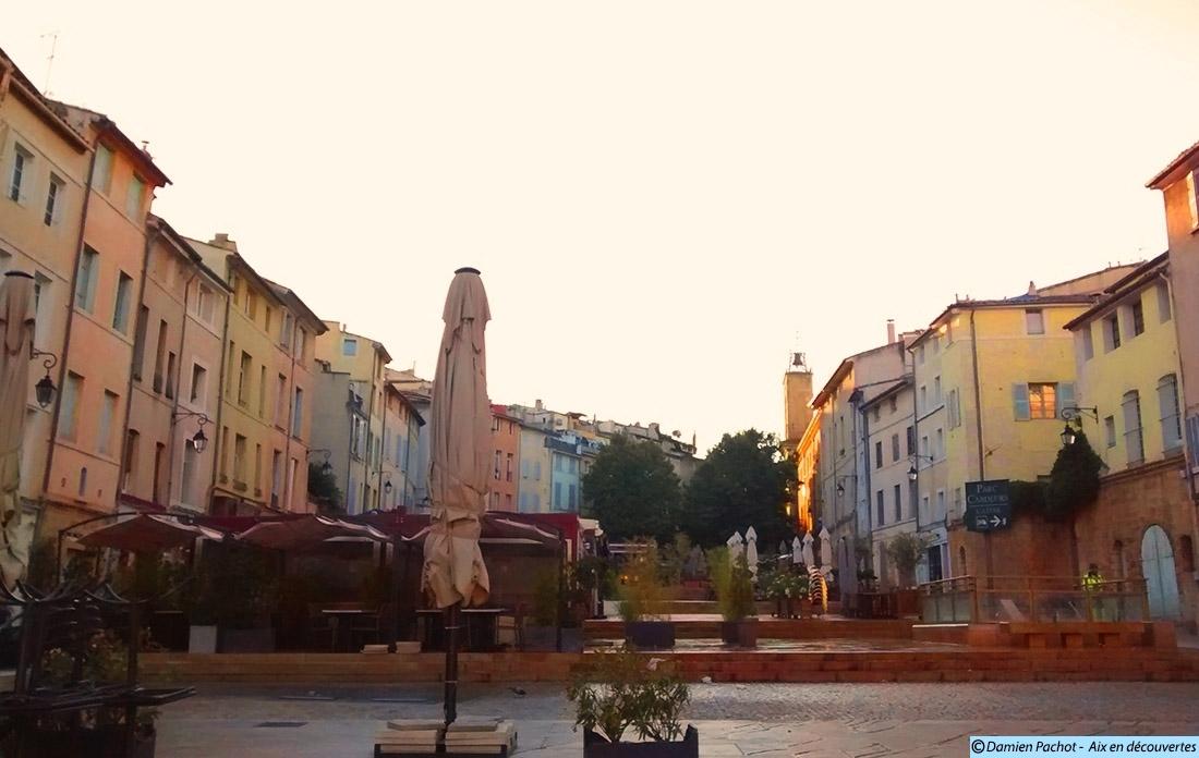 Place des Cardeurs - Aix en Provence