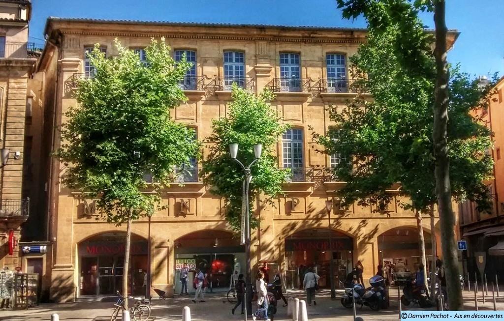 L'Hôtel d'Estienne d'Orves occupé aujourd'hui par le Monoprix