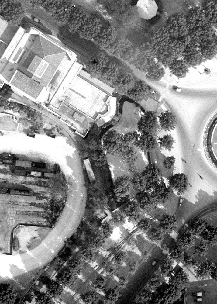 La même zone que ci-dessus en 1930 Photo: © IGN-GEOPORTAIL/1930