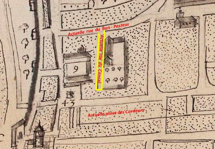 Plan: Louis Cundier - 1666 - (Voir dans les sources)