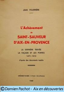 L'achèvement-de-Saint-Sauveur-d'Aix-en-Provence par Jean Pourrière