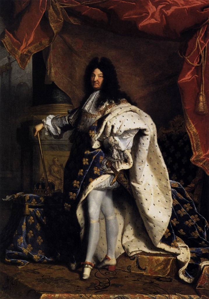 Louis XIV par Hyacinthe Rigaud - Photo: Domaine Public