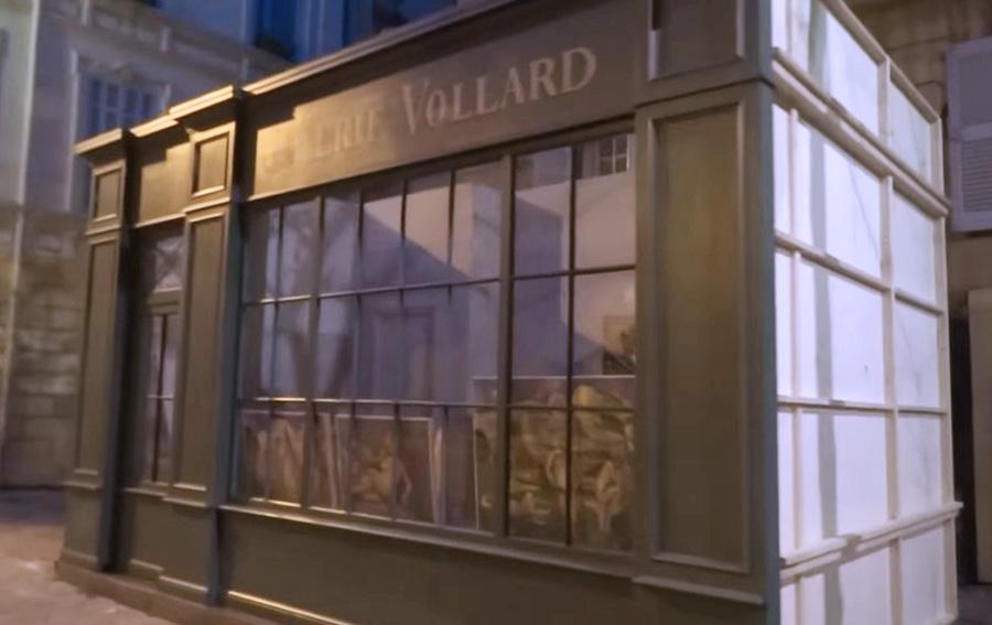 Le décor de la Gallerie Vollard - Photo: voir dans les sources