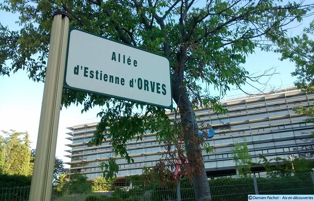 L'allée d'Estienne d'Orves - Photo: © Aix en découvertes