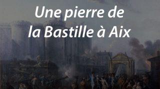 Une pierre de la Bastille à Aix