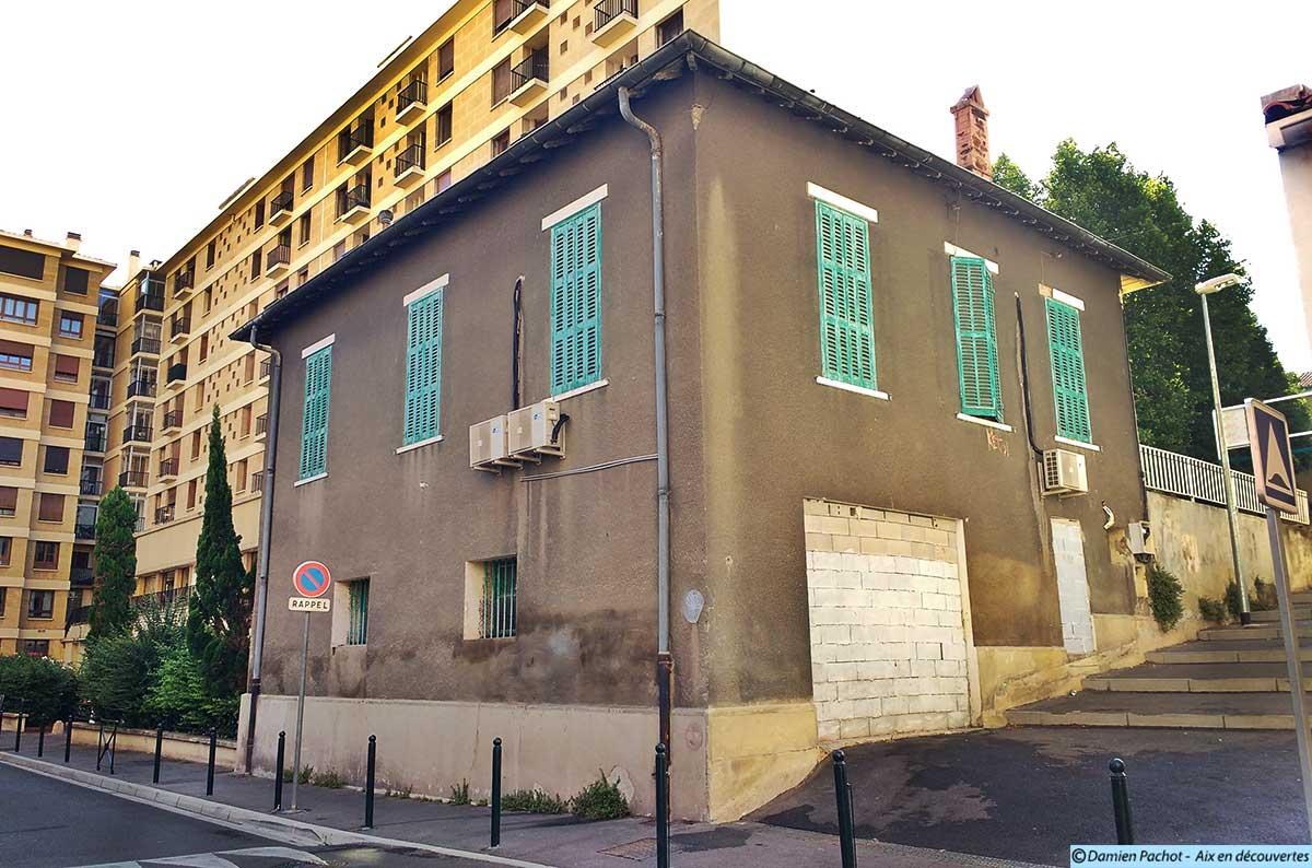 L'arrière de la maison depuis la rue de Jérusalem