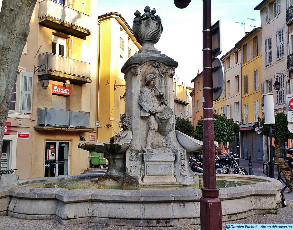 La fontaine Pascal près du cours Sextius
