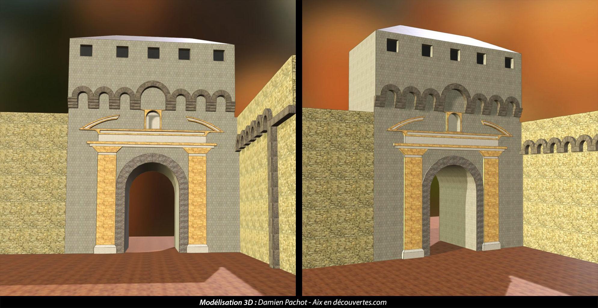 L'ancienne porte Bellegarde