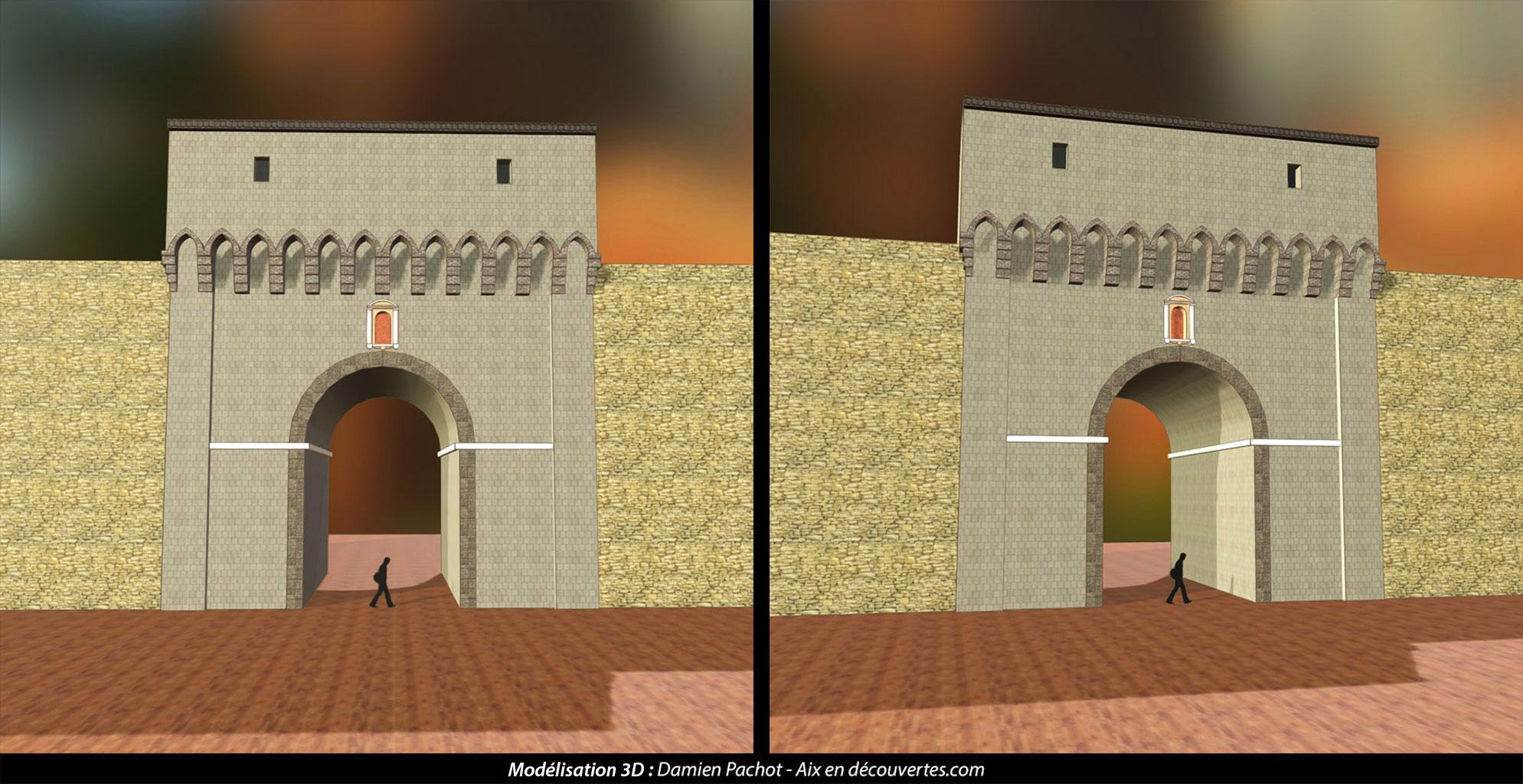 L'ancienne porte Saint-Jean ou d'Italie