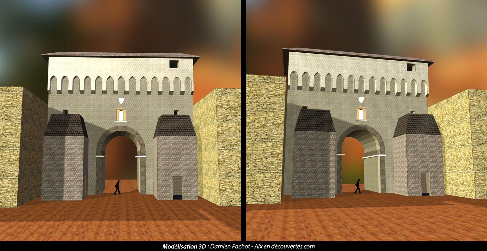 L'ancienne porte d'Orbitelle