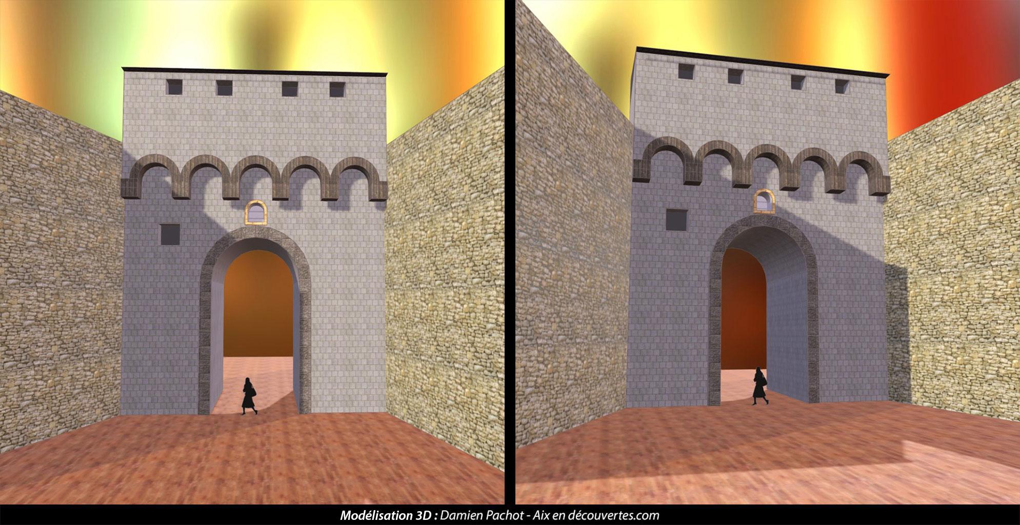 L'ancienne porte des Augustins