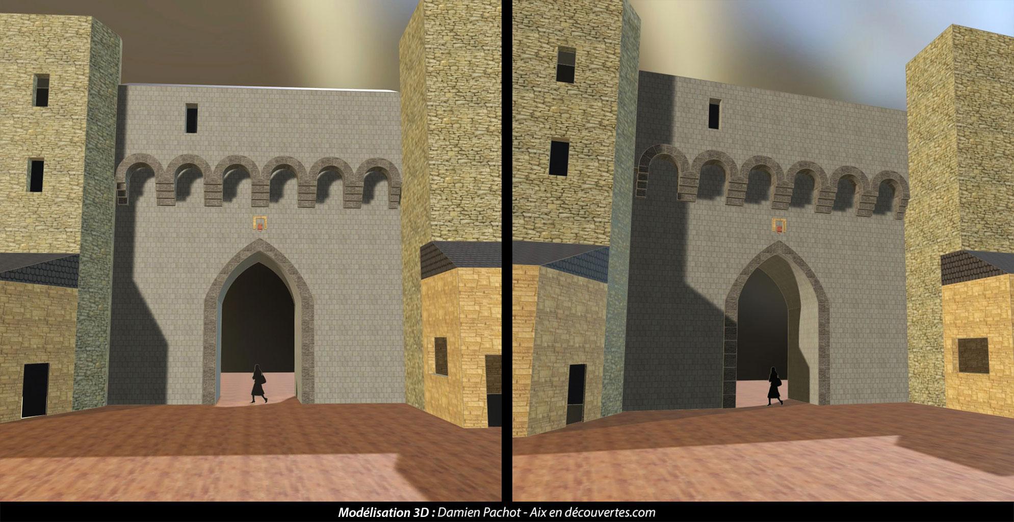 L'ancienne porte des Cordeliers