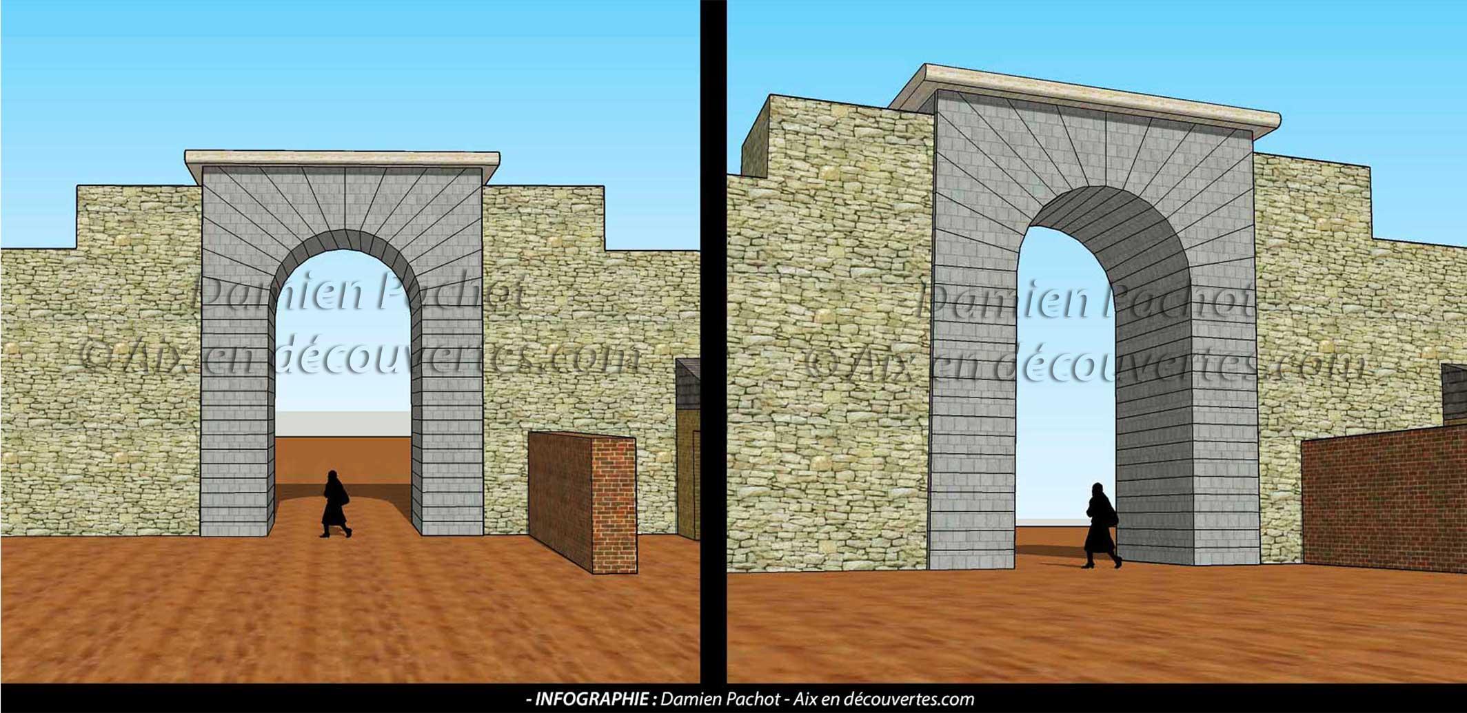 L'ancienne porte de la Plateforme