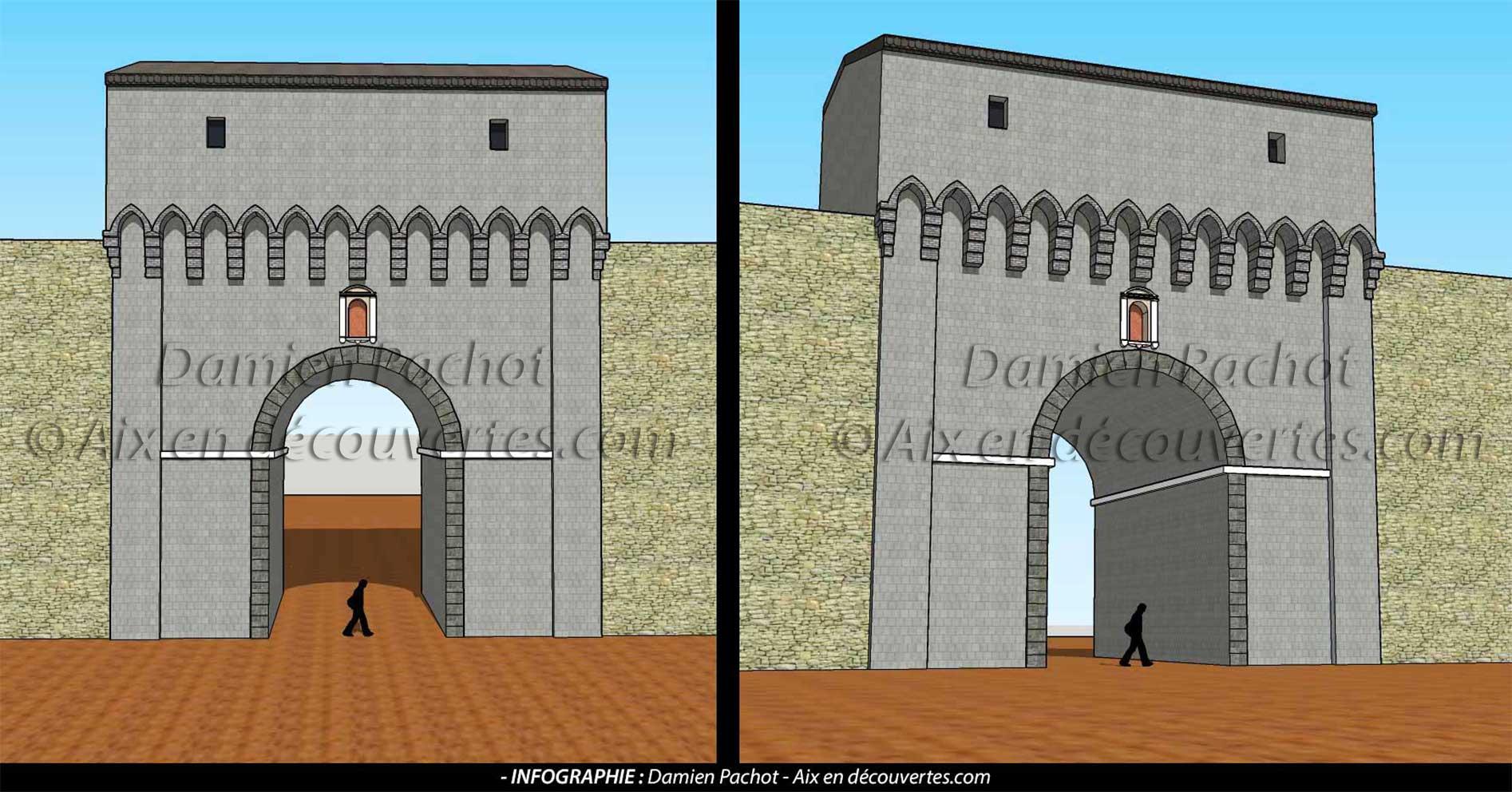 L'ancienne porte Saint-Jean