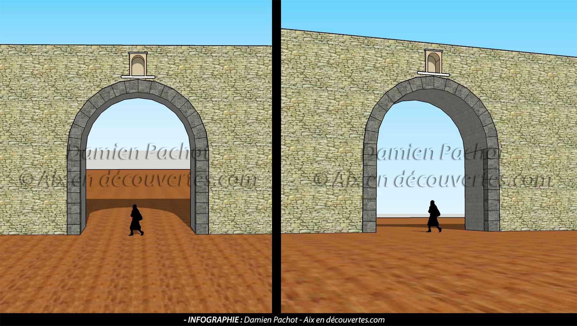 L'ancienne porte Saint-Louis