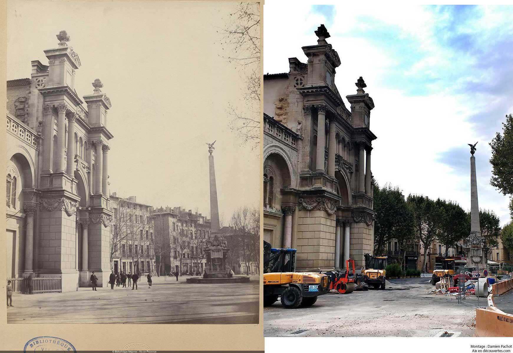 La Madeleine au XIXe et de nos jours - Bibliothèque Méjanes, Aix-en-Provence, Cote : PHO. GON. (1), 26