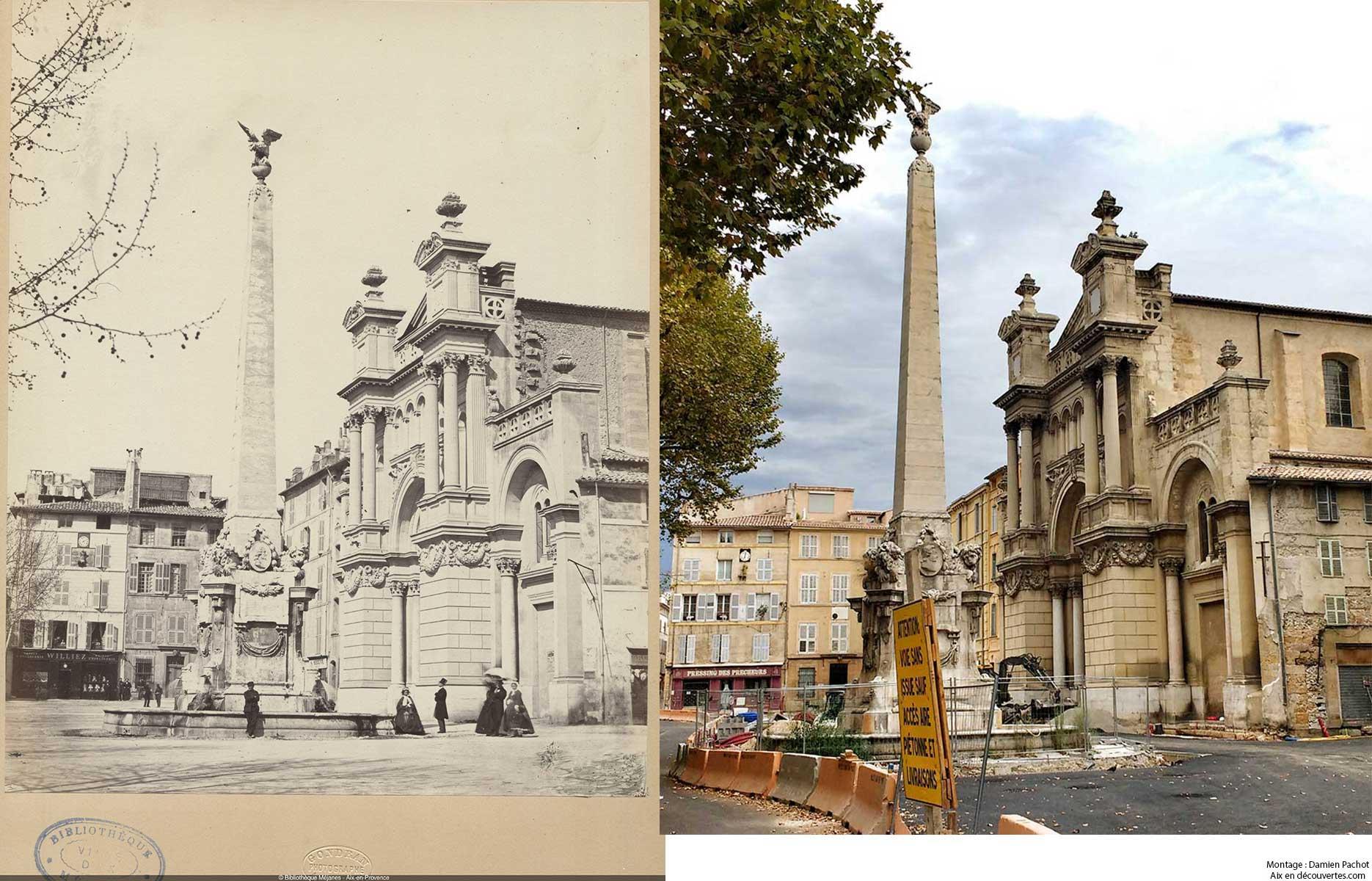 La Madeleine au XIXe et de nos jours - Bibliothèque Méjanes, Aix-en-Provence, Cote : PHO. GON. (1), 28
