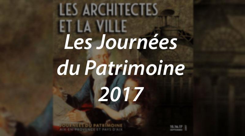 Les Journées du Patrimoine 2017