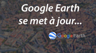 Google Earth se met à jour