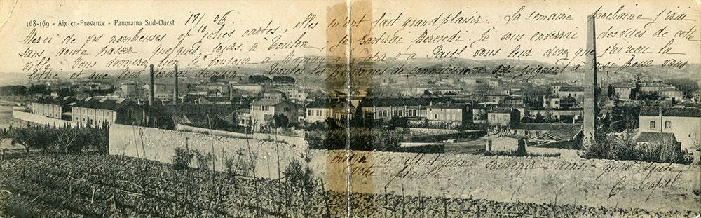 Collection Jaussaud Cote : PHO. CPA. AIX. 0181 Conservé à la bibliothèque Méjanes - Aix-en-Provence