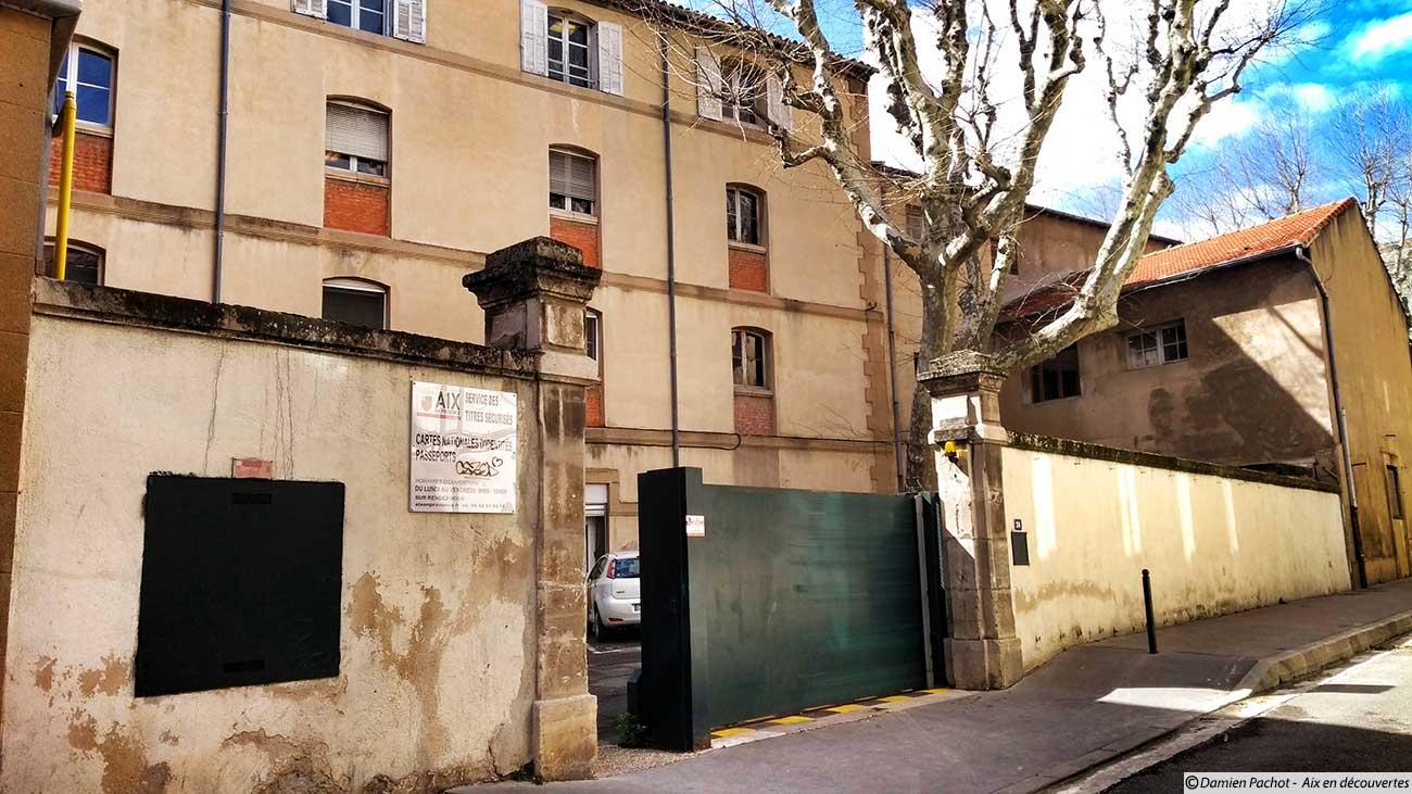 L'actuel n°26 rue Chastel, là où fut transférée en 1895 l'école qui se trouvait depuis 1878 rue Litttera