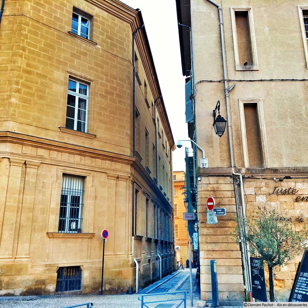 L'entrée nord de la rue de la Verrerie
